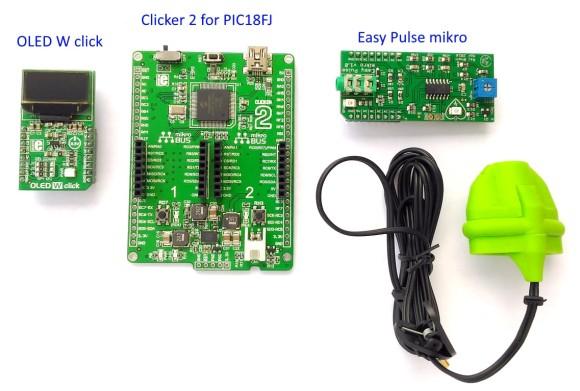 Standalone pulse meter using