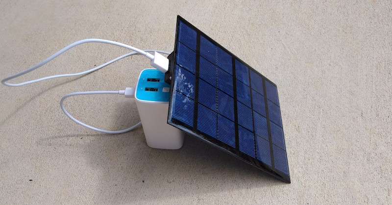 A very simple DIY solar-powered USB charger - Embedded Lab