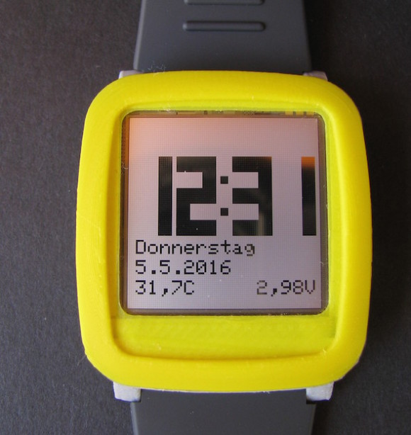Arduino wrist watch