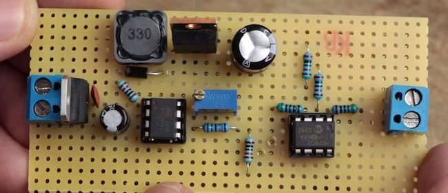 NPN transistor besides TeamGreenGorilla together with Step Up Boost Regulator Converter Basics as well Step Down Dc Dc Converter Question likewise Buck Converter Schematic. on buck converter basics