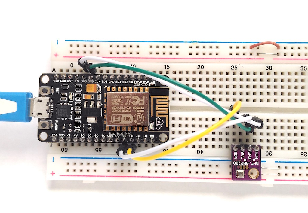 Making A Simple Weather Web Server Using Esp8266 And