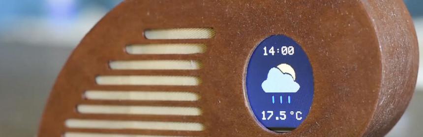 Artistic weather forecaster using ESP8266