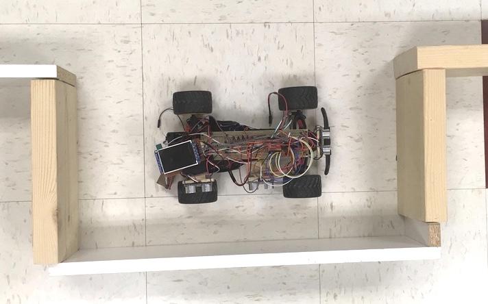 Autonomous parallel parking car