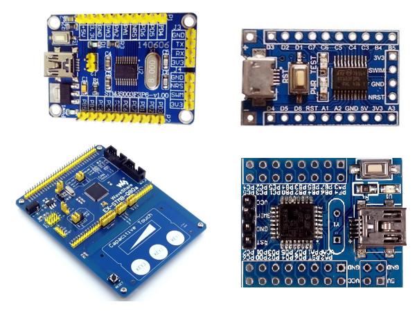 STM8S003F3 STM8 STMicroelectronics Embedded-Mikrocontroller 8-Bit 16MHz Board