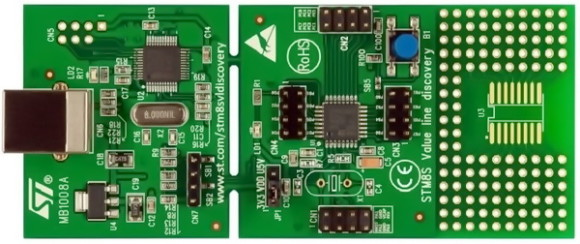 STM8S003K3 Discovery