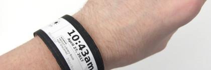 Flexible smartwatch using e-ink display
