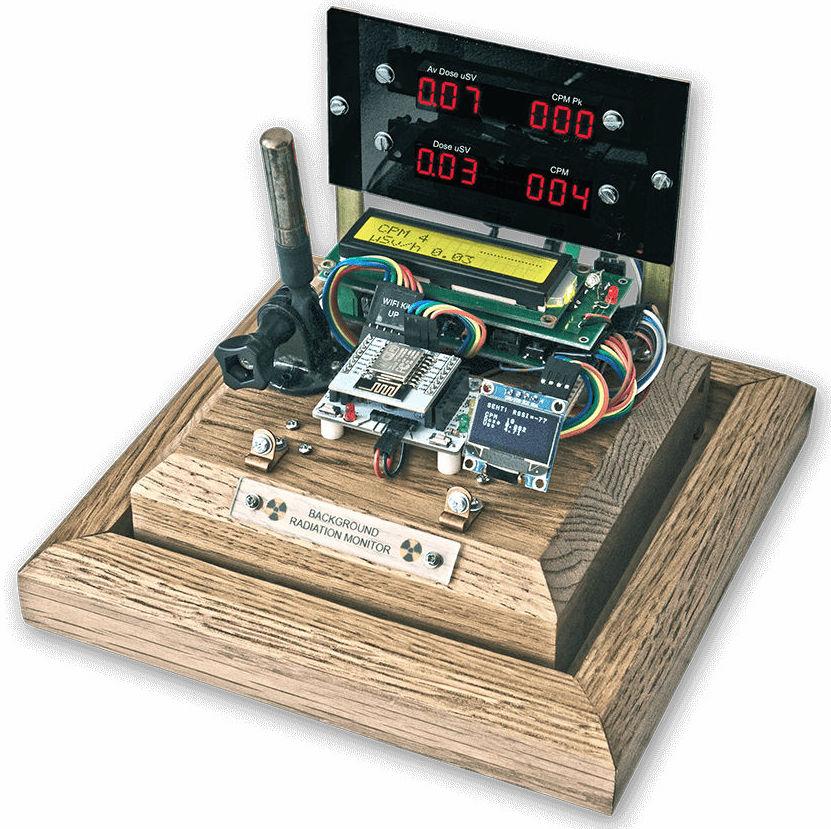 Radiation monitoring system using Arduino and ESP8266
