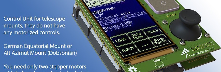 Arduino Due powered GoTo controller