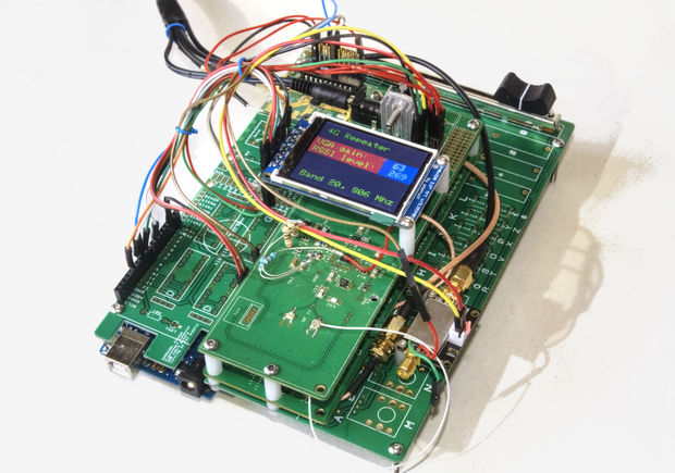 arduino cellphone signal booster embedded lab. Black Bedroom Furniture Sets. Home Design Ideas