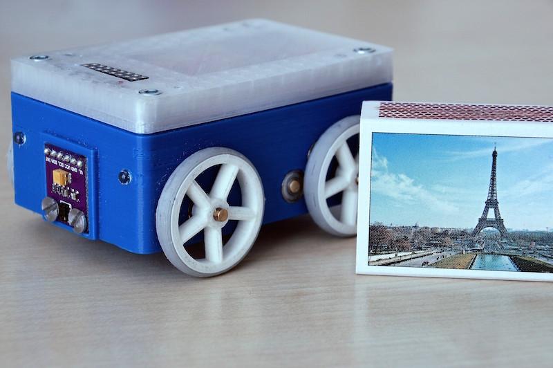 Wifi/BLE enabled 4WD robot platform