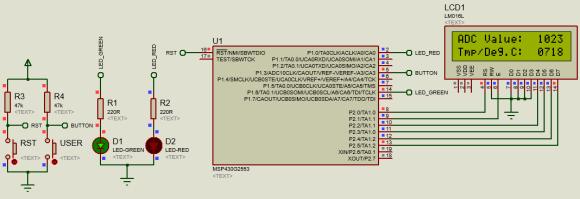 ADC10 ISR Simulation