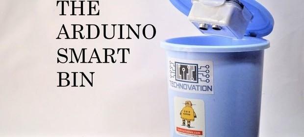 Arduino trash bin monitor