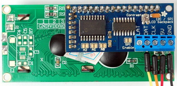 I2C SPI LCD