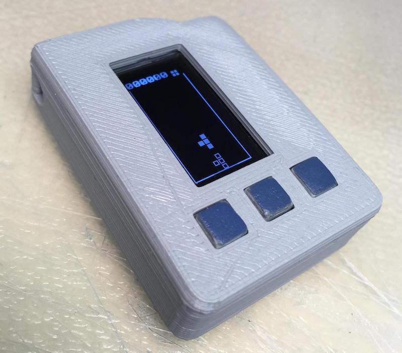 Pocket Tetris project