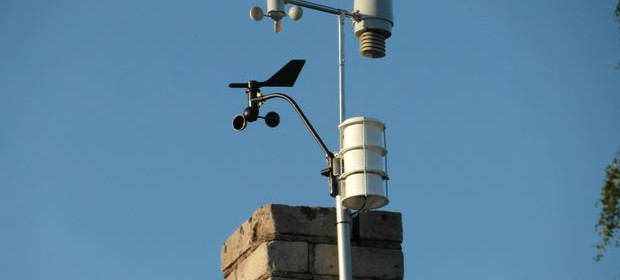 Arduino powered WiFi weather station