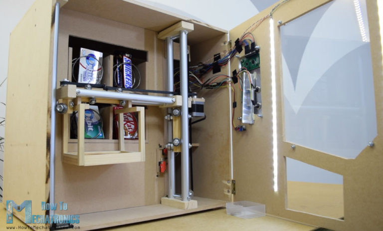 DIY vending machine using Arduino