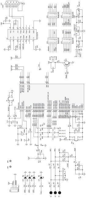 STM8S207 Schematic