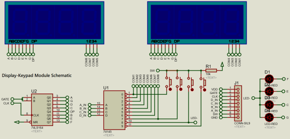 7 Segment Module