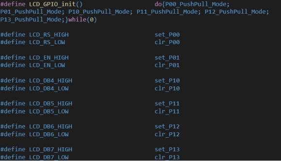 LCD Coding