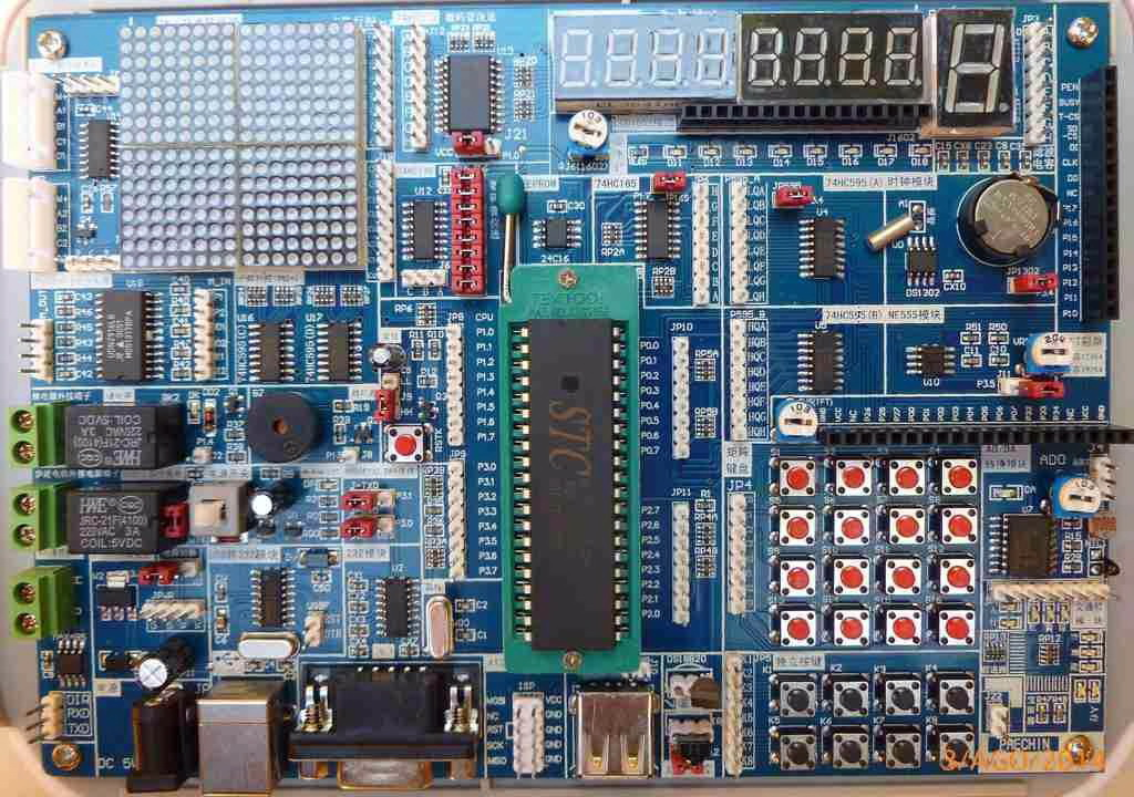 Exploring STC 8051 Microcontrollers - Embedded Lab