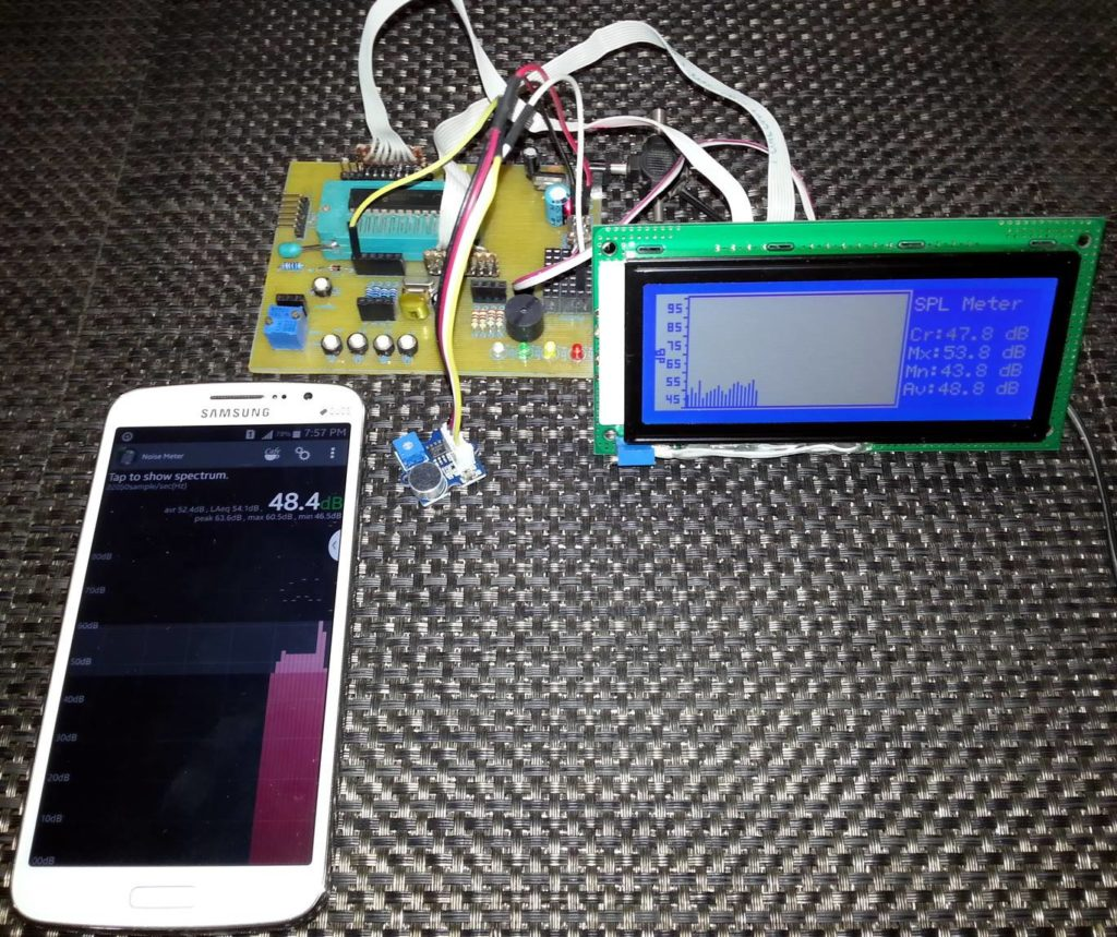 Making a SPL dB Meter - Embedded Lab